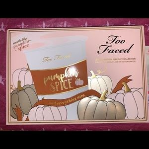 Too Faced Pumpkin spice set.